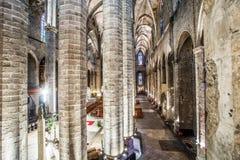 Barcelona - gothic church Santa Maria del mar Stock Photo