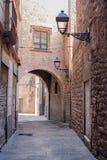 Barcelona Gothic quarter Royalty Free Stock Image