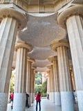 barcelona guell parc Zdjęcie Royalty Free