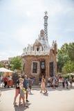 barcelona guell park Fotografia Stock