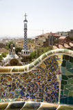 Barcelona - Guell park from Gaudi Stock Photo
