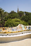 Barcelona - Guell park from Gaudi Stock Images