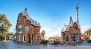 Barcelona, Guell park, Hiszpania fotografia stock