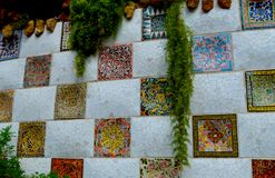 barcelona guell park Spain zdjęcia stock