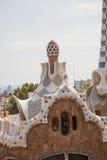 barcelona guell park Spain Fotografia Stock