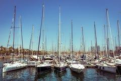 Barcelona harbor Royalty Free Stock Photography