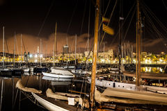 Barcelona harbor Royalty Free Stock Images