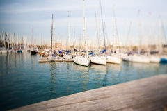 Barcelona harbor Royalty Free Stock Image