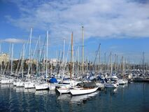 barcelona-harbour Stock Photos