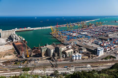 Barcelona Harbour Stock Photography