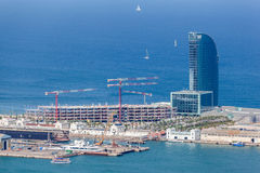 Barcelona Harbour Stock Image