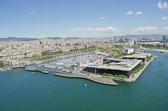 Barcelona Harbour & Marina Royalty Free Stock Image