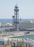Barcelona Harbour & Marina Stock Photos