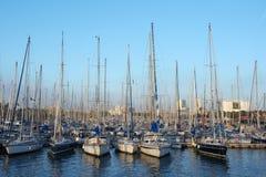 Barcelona harbour 1 Stock Image