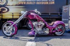 BARCELONA HARLEY-DAGAR 2014 royaltyfria bilder