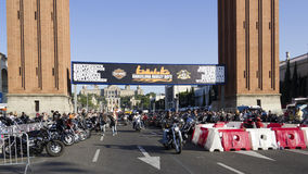 Barcelona Harley Days 2012 Royalty Free Stock Photography