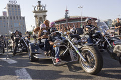 Barcelona Harley Days 2012 Royalty Free Stock Photo