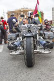 BARCELONA HARLEY DAYS 2012 Royalty Free Stock Images