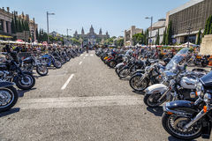 BARCELONA HARLEY DAYS 2014 Royalty Free Stock Photo