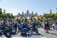 BARCELONA HARLEY DAYS 2014 Stock Photography