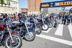 BARCELONA HARLEY DAYS 2014 Royalty Free Stock Photography