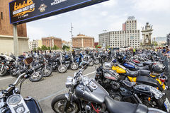 BARCELONA HARLEY DAYS 2015 Stock Photography
