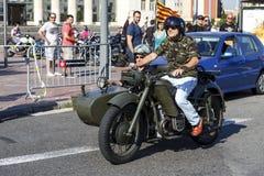 BARCELONA HARLEY dni 2013 Zdjęcia Royalty Free