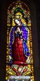 Barcelona - heilige Mary van Sagrad cor DE Jesus stock foto's