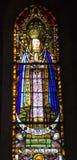Barcelona - heilige Mary van Sagrad cor DE Jesus stock foto