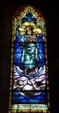 Barcelona - heilige Mary van Sagrad cor DE Jesus royalty-vrije stock afbeeldingen