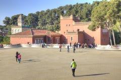Barcelona In het Park Guell Royalty-vrije Stock Foto