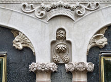 Barcelona historic architecture detail Stock Photos