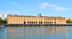 Barcelona historiemuseum Fotografering för Bildbyråer
