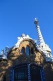 BARCELONA HISZPANIA, CZERWIEC, - 22: Parkowy Guell w Barcelona, Hiszpania na Czerwu 22, 2016 Obrazy Royalty Free