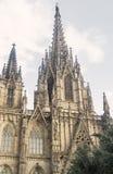 Barcelona Hiszpania: gothic katedra Obraz Stock