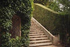 BARCELONA HISZPANIA, KWIECIEŃ, - 22, 2016: Retro stylów szczegóły w Parc d Obraz Royalty Free