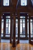 BARCELONA HISZPANIA, KWIECIEŃ, - 28: Wnętrze Palau Guell pałac na Kwietniu 28, 2016 w Barcelona, Hiszpania Obraz Stock