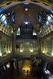 BARCELONA HISZPANIA, KWIECIEŃ, - 28: Wnętrze Palau Guell pałac na Kwietniu 28, 2016 w Barcelona, Hiszpania Fotografia Stock