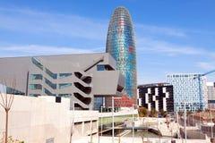Widok Barcelona, Hiszpania Zdjęcia Royalty Free