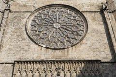 Barcelona (Hiszpania): Santa Maria Del Pi, gothic kościół Zdjęcia Stock