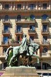 Barcelona horseman. Stock Images