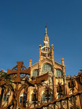 Barcelona,Hospital Sant Pau 13. Hospital de Sant Pau in Barcelona, Spain Royalty Free Stock Photography