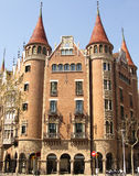 Barcelona house Royalty Free Stock Images