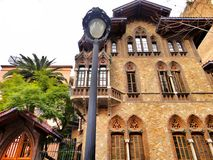 Barcelona house in the area of tibidabo Royalty Free Stock Photography
