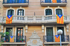 Barcelona house Stock Photography