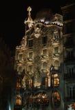 barcelona hus Royaltyfri Fotografi