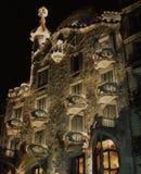 barcelona hus Arkivbilder