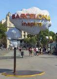 Barcelona Inspira Stock Photo