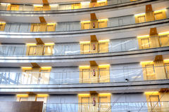 Barcelona. Interior of modern hotel Stock Photos