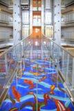 Barcelona. Interior of modern hotel Royalty Free Stock Photography